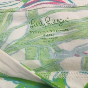 Lilly Pulitzer Cotton Top Sz Small